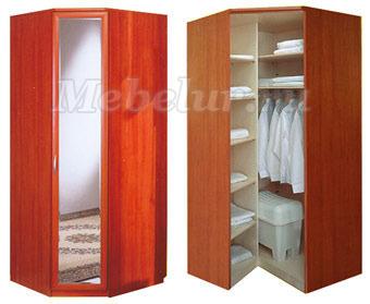 Шкафы угловые - фото