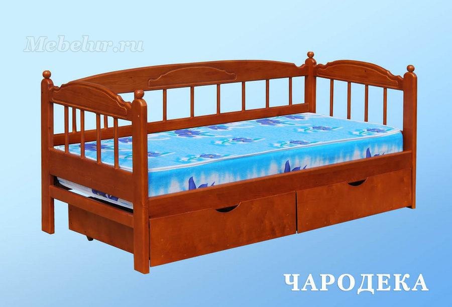 детский диван-кровать с бортиками купить в калуге