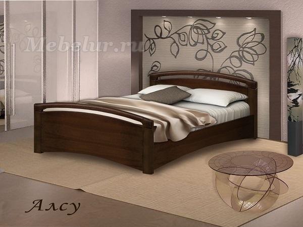 двуспальные деревянные кровати фото