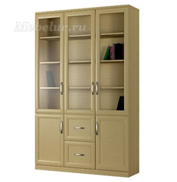 Купить шкаф для книг и документов - распашной трехдверный с .